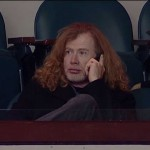 MEGADETH's Dave Mustaine Is Shy